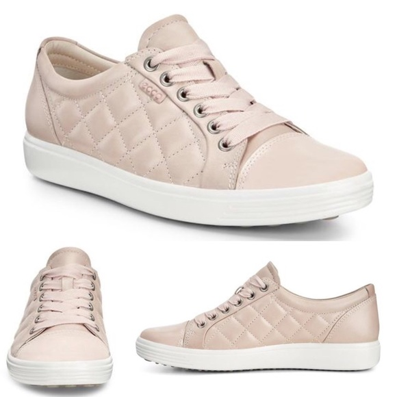 Soft 7 Quilted Tie Leather Sneaker Sz11
